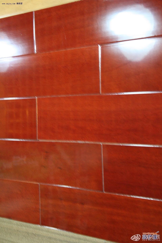永吉皇家园林系列 番龙眼 酸枝色 实木地板