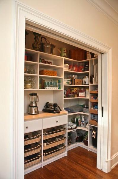 冰箱嵌入柜效果圖