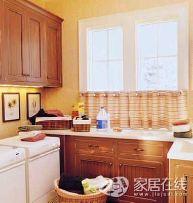 厨房 窗帘 可以 让 你 开心 在 厨房 里面 很 轻松