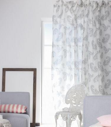 欧式窗帘花型图腾
