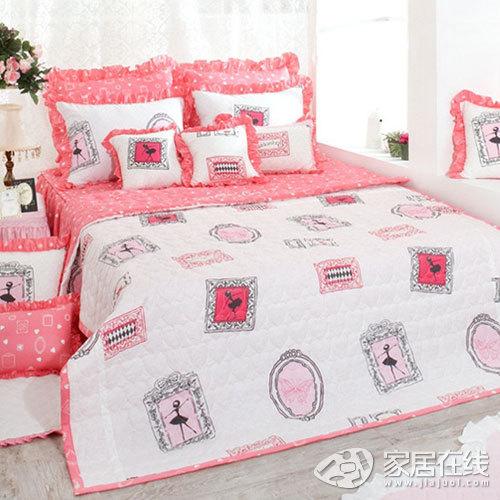 韩式床品 打造夏日清爽可爱公主房
