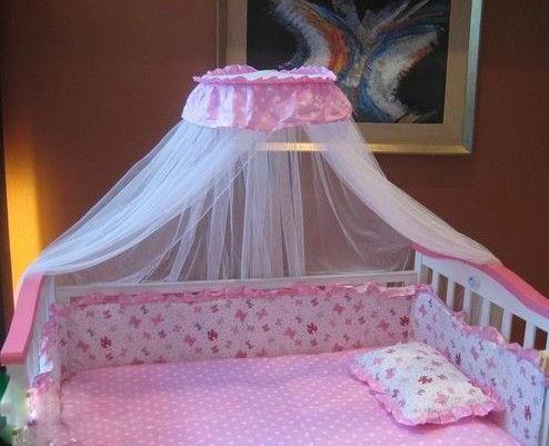 蚊帐安装简单,拆洗方便,是婴儿健康成长好帮手.