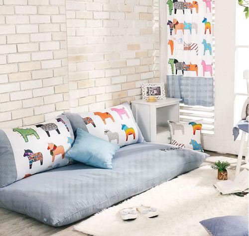 名称:可爱小斑马1.8米懒人沙发