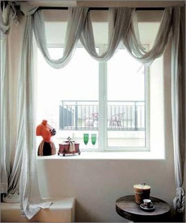 窗台简笔画图片欣赏