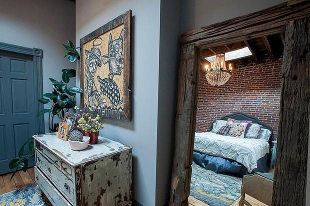 充满艺术的版式带故事感的家居莫里斯小屋v艺术的图图片