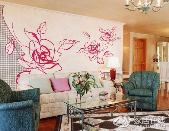 28款家居墙绘设计案例 发挥创意美化居室