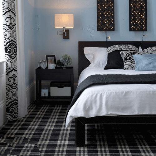 卧室背景墙图片