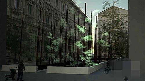 2011米兰国际灯饰展 重造米兰神圣小树林