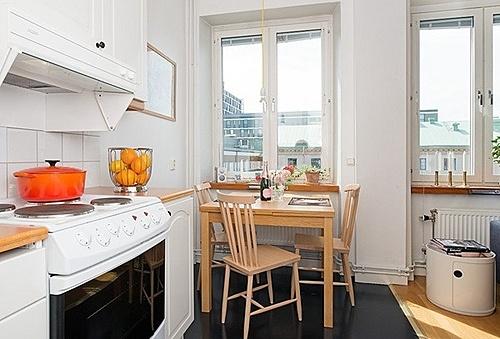 挑战超小户型装修体验 40平瑞典清新家