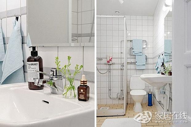 44平小户型 日式和北欧风格的混搭公寓