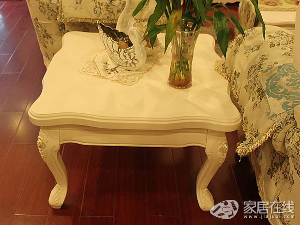 其中客厅家具包含欧式布艺沙发单人位,三人位,贵妃位,长茶几,方茶几