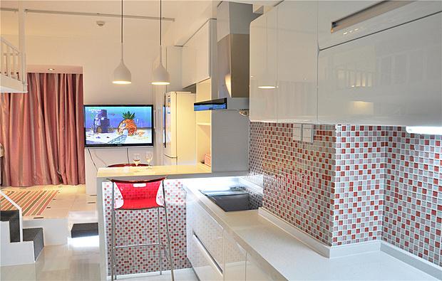 现代风格 30平米小公寓展示着丰富的生活_设计案例