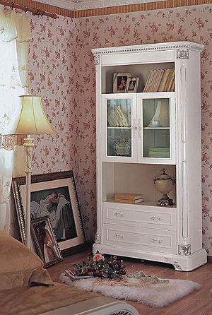欧式女儿房书柜