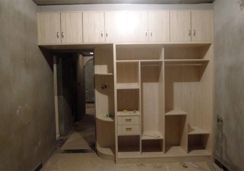 家装木工制作儿童床