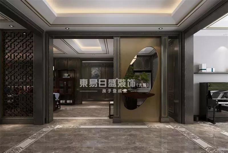 中式影��k�_【东易日盛】墨影楚轩—中式的韵味全在这里!