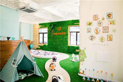 深圳集合设计早幼托空间案例:因乐国际儿童成长中心