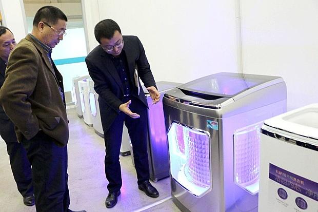 海尔洗衣机3年获2项国家级技术成果