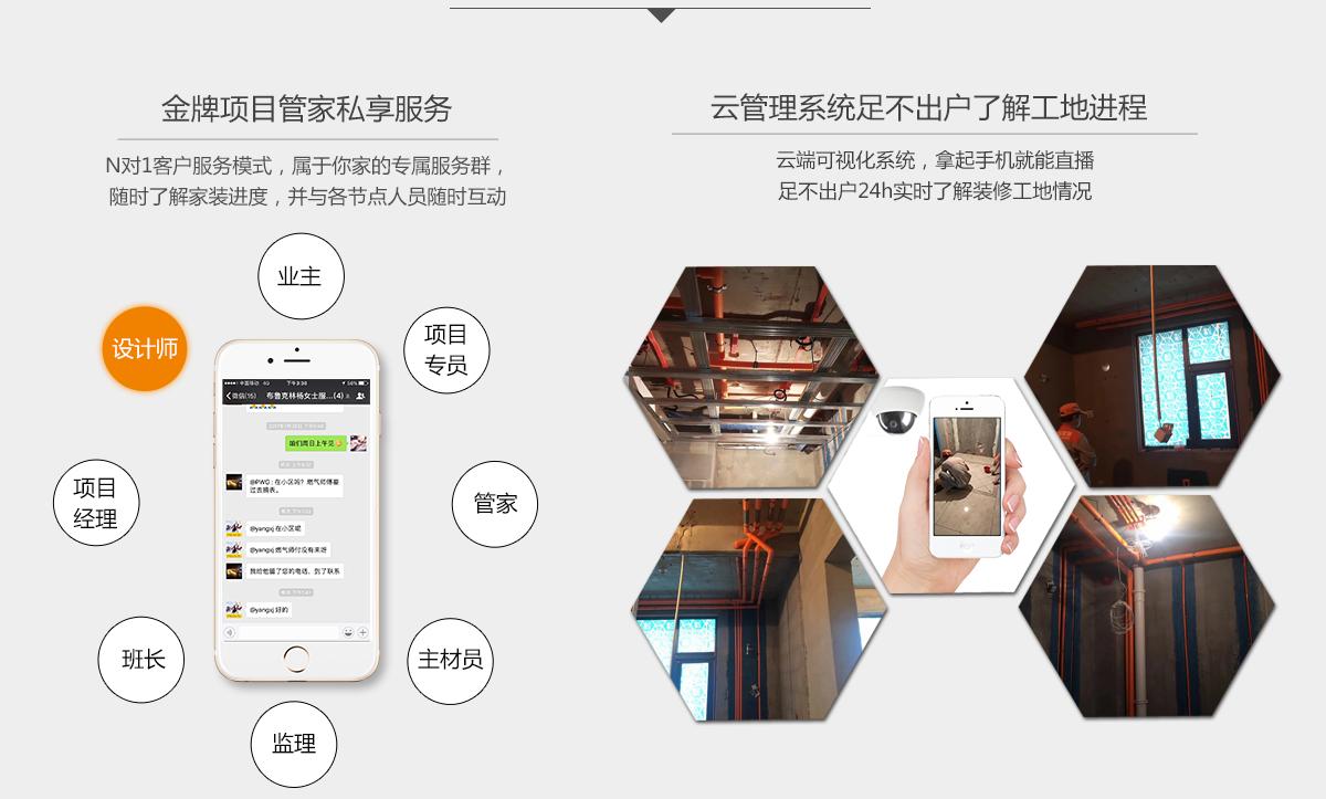 装修管家专属服务--北京业之峰全屋整装