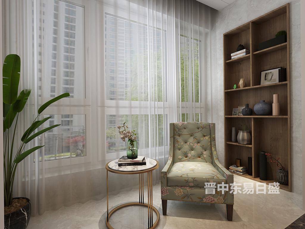 晋中东易日盛装饰阳台设计