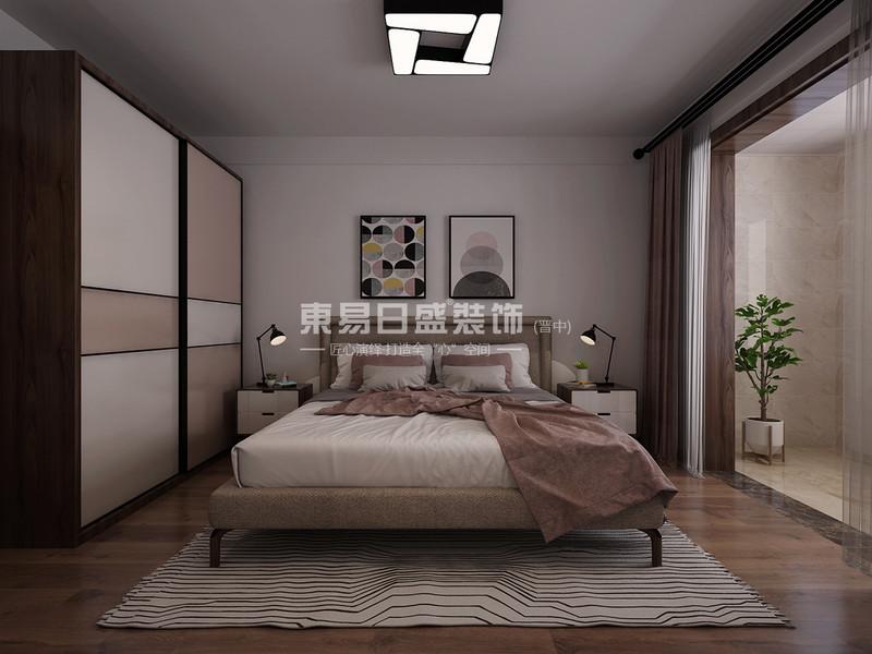 晋中东易日盛装饰卧室设计