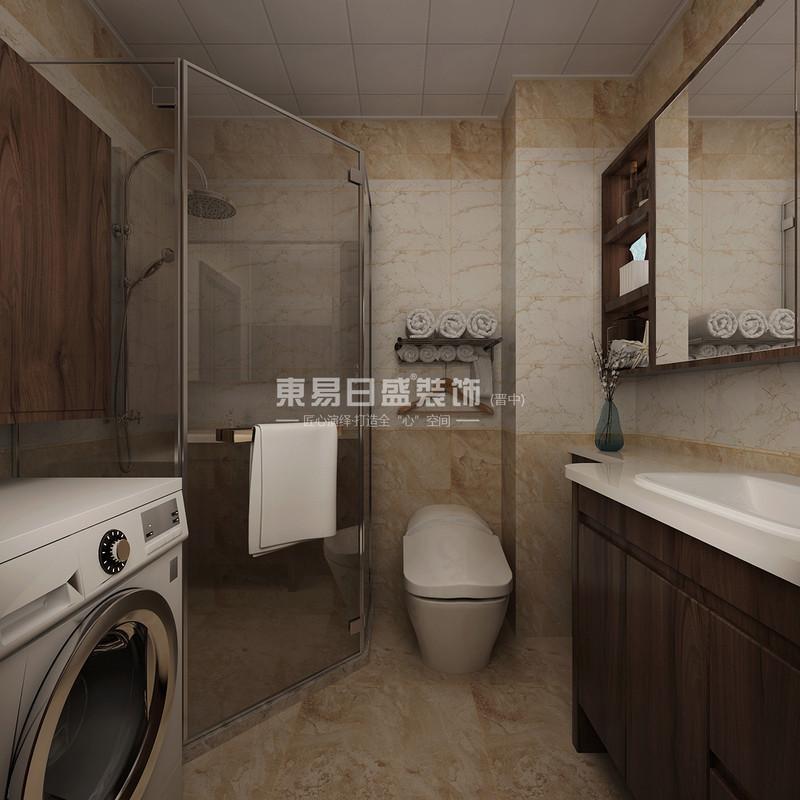 晋中东易日盛装饰卫生间设计