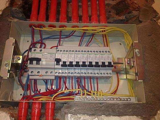电工验收细节