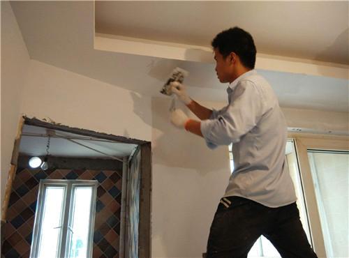 旧墙刷乳胶漆的步骤